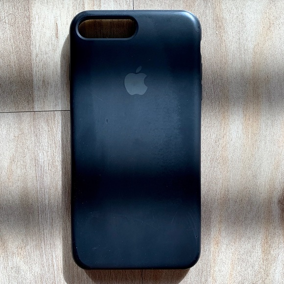 apple iphone 7 silicone case black